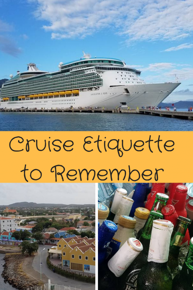 It's important, especially with all of the distractions, that you remember to be kind and courteous when on a cruise. Here are some tips and reminders on cruise etiquette.