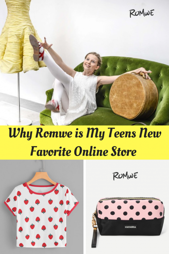 Are you looking for an online store that has a great selection of clothes and accessories at great prices for your teens? Take a look at Romwe.