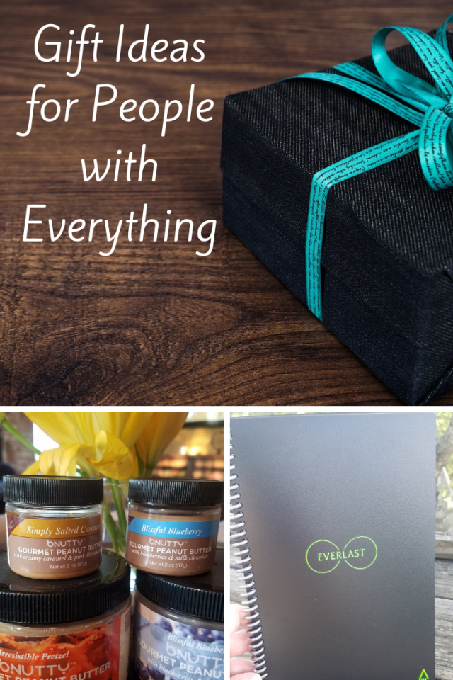 Since I know that I am not the only person that has a hard time gifting to those people that seem to have everything, I wanted to share with you a few of my favorite products that I think will make great gifts any time of the year.