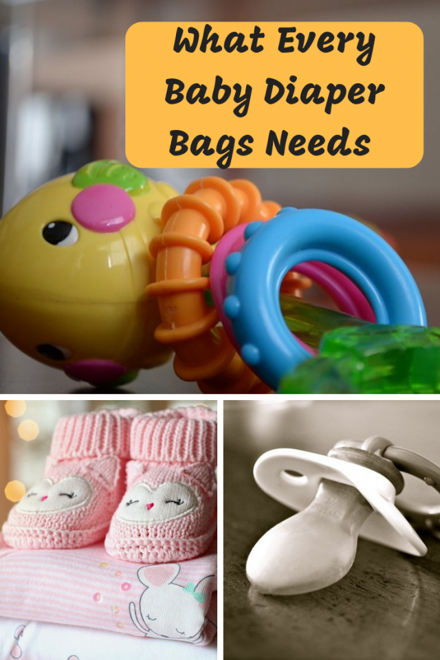 It is important to know what every baby diaper bag needs so that your bag can be as functional and easy to carry as possible.