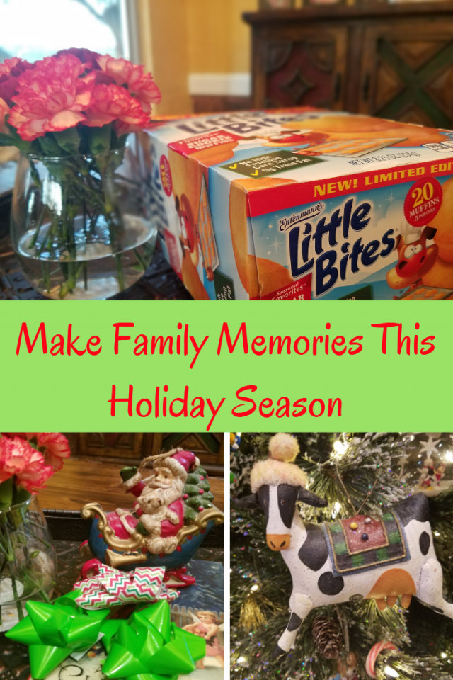 My family loves to make memories together, especially around the holidays. Here are a few ways that we make memories during the holiday season.