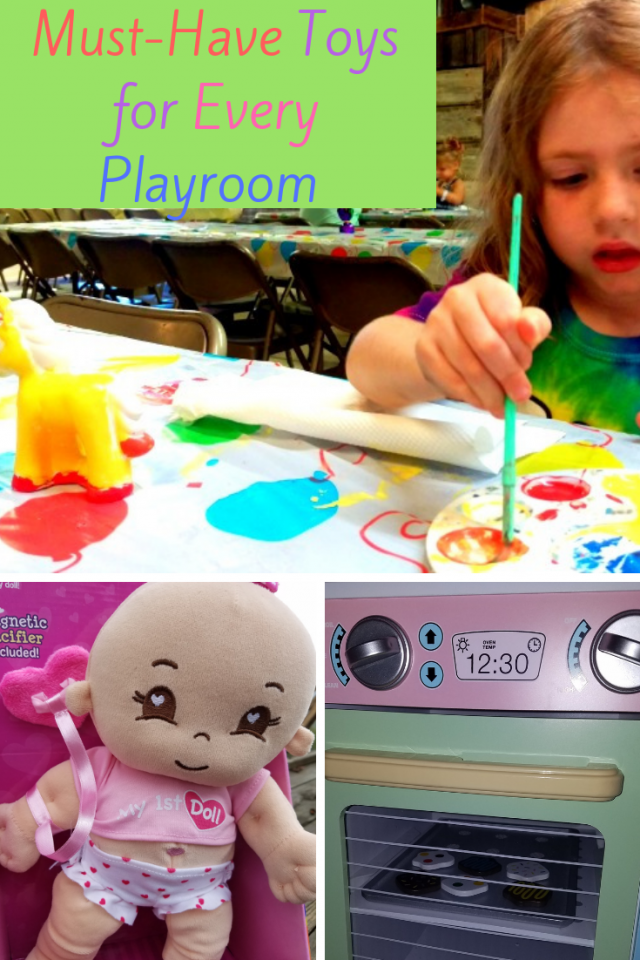 There are certain toys that kids should be exposed to because these toys will encourage creative thinking and imagination. Here is a list of toys that every playroom should try and have.