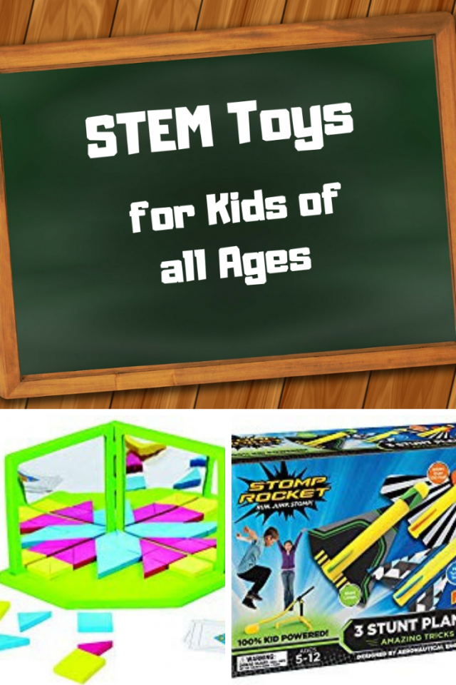 when I buy my girls toys, as I've stated in previous posts, I focus on choosing toys that stimulate learning. Now that I know what STEM is, I've discovered that there are quite a bit of amazing STEM toys for kids of all ages.