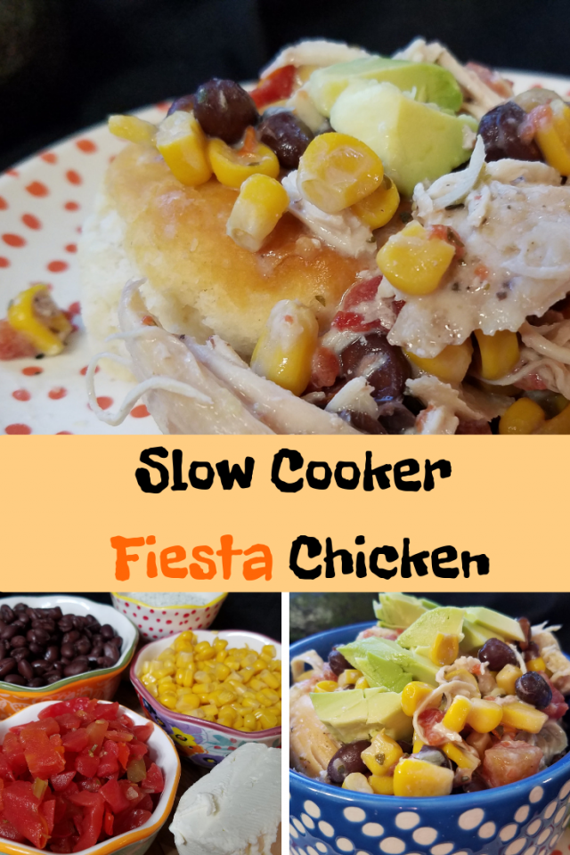 I decided to prepare Slow Cooker Fiesta Chicken. It's a dish that is delicious for the entire family but also one that saves me time in the kitchen.