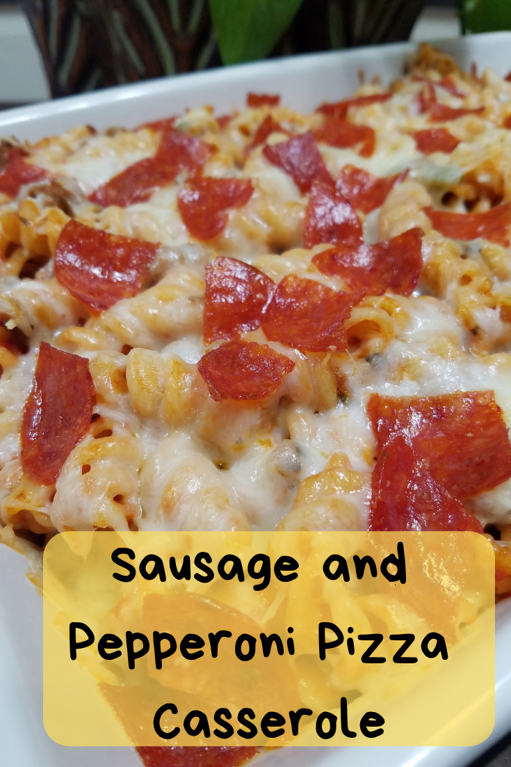 This is a simple dish that is perfect for kids of all ages! The mix of sausage, pepperoni, and cheese is an amazing combination.