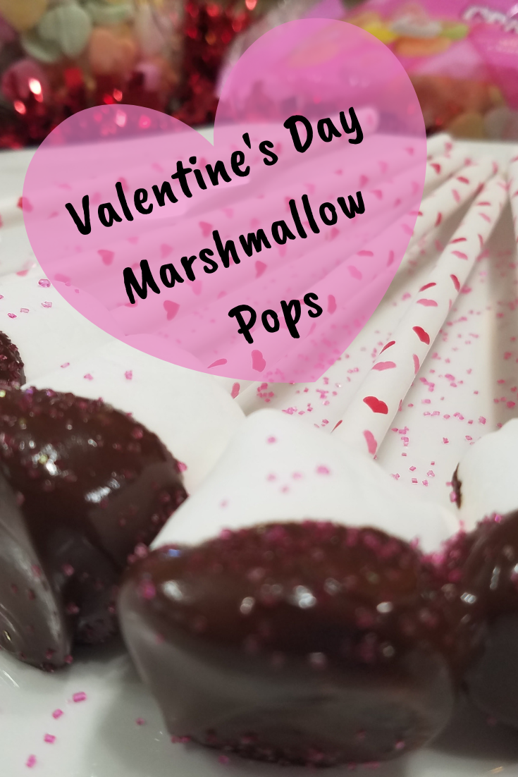 Valentine's Day Marshmallow Pops are easy to make and are perfect for Valentine's Day parties.