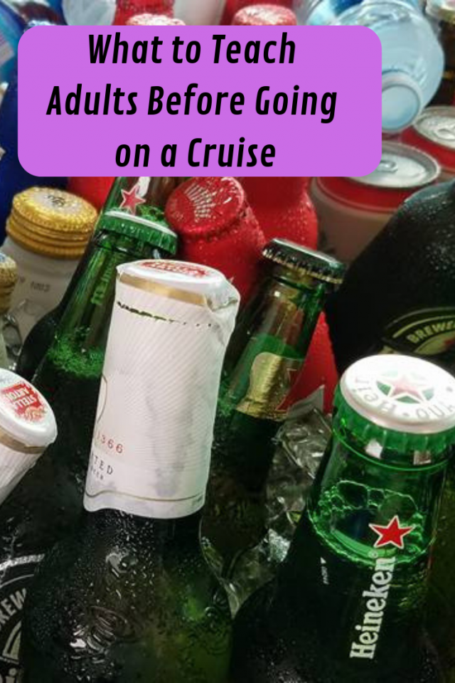 Too often cruisers become too relaxed, so in an effort for everyone on the ship to enjoy the cruise it's important that adults remember that they are adults. Here are some very helpful tips and reminders.