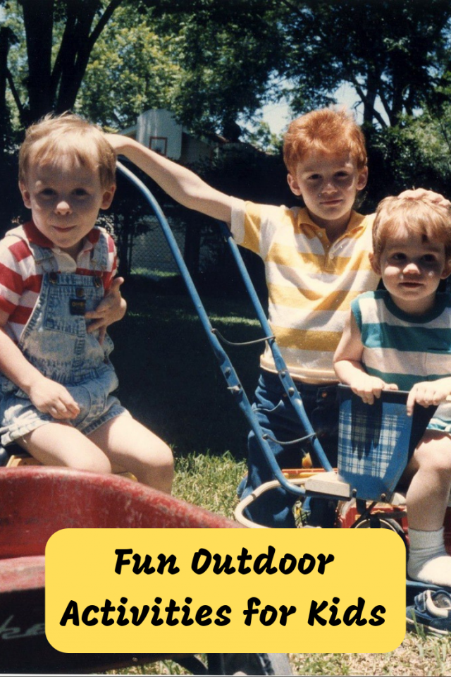 It's important for kids to unplug and get outside. Here are some fun outdoor activities for kids that they will love.