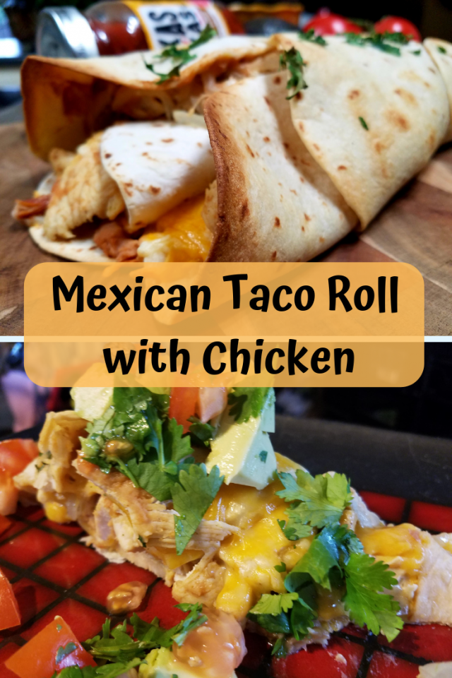 The perfect Mexican dish filled with chicken, cheese, beans onions and more. The flavors burst in your mouth.