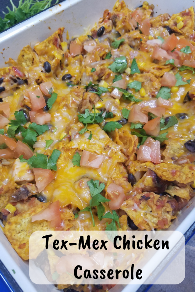 If you need to prepare a meal that is easy to make, uses ingredients that you most likely already have and tastes good, then this Tex-Mex Chicken Casserole is a recipe that you will love.