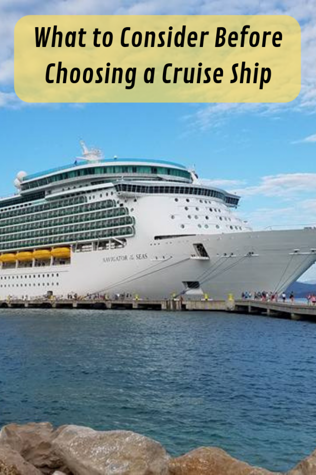 If you are planning a cruise for the first time or are planning on making reservations to a new cruise line, here are a few things you should ask yourself and consider before choosing a cruise.
