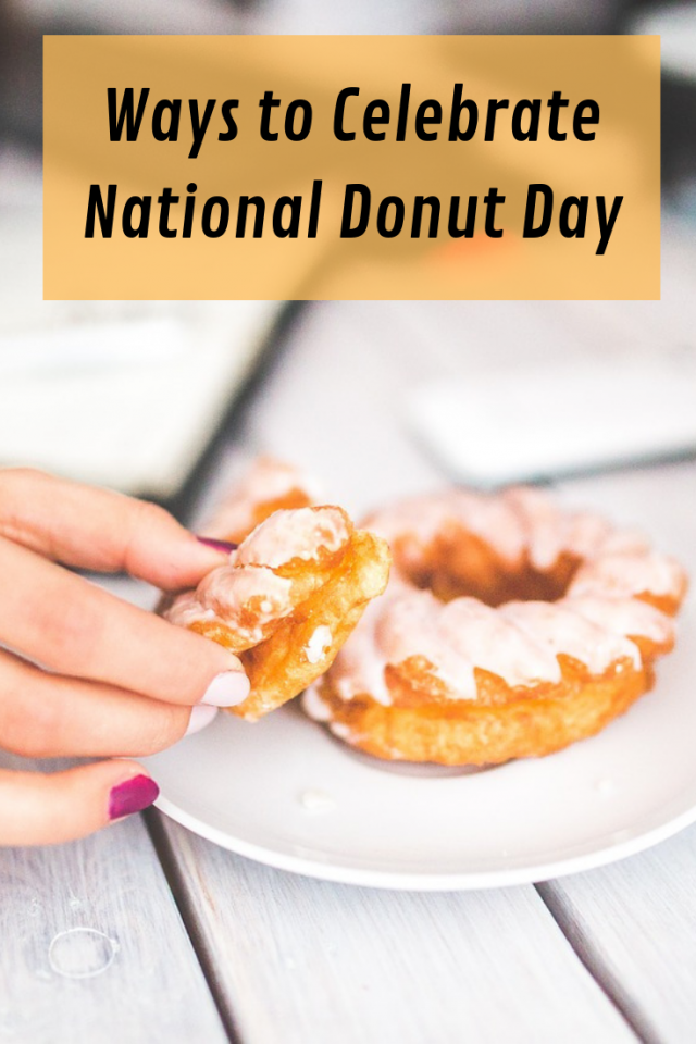 As a way of honoring those that serve others, every National Donut Day, I like to show my appreciation and give back. A few ways that this can be done.