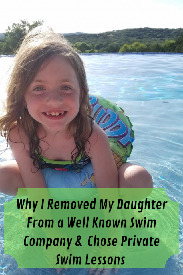 After a handful of scary experiences at a well know swim facility, I chose to remove my daughters and place them in private swim classes. Read why so you can protect your kids.