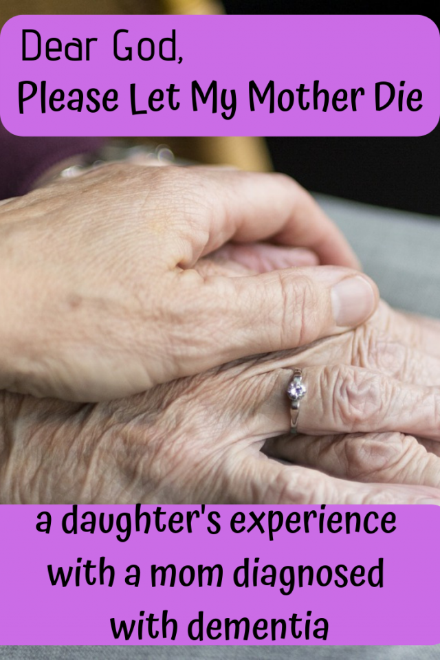 A powerful story of a daughter whose mom was diagnosed with dementia.