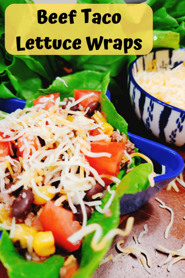 Beef Taco Lettuce Wraps are easy to make, use simple ingredients that can be altered and is a healthy alternative to the regular crunchy beef taco.