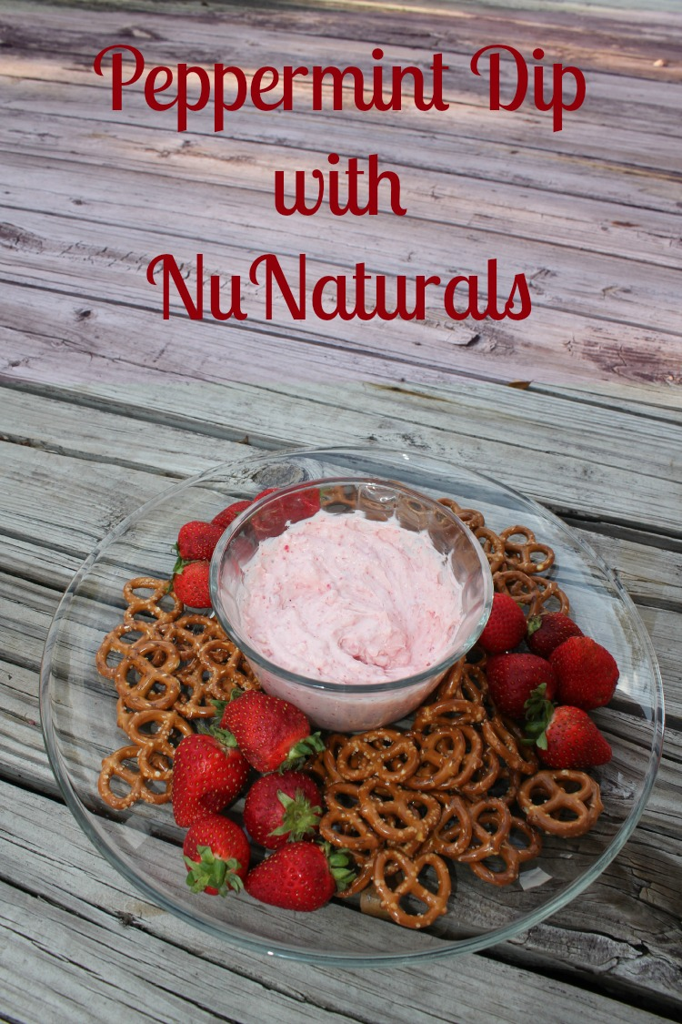 Peppermint Dip With NuNaturals
