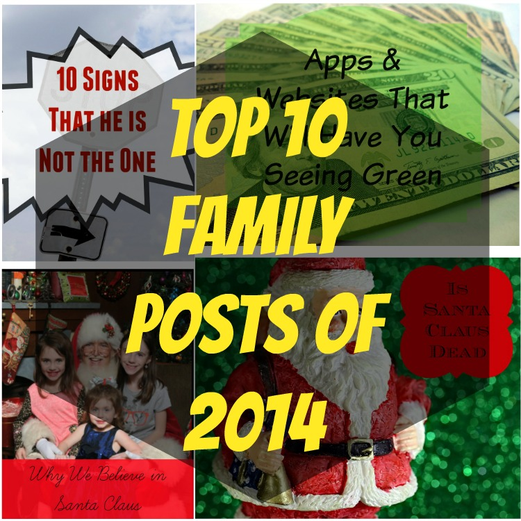 Top 10 Family Posts of 2014