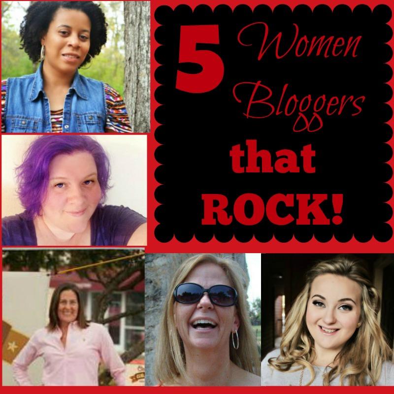5 Women Bloggers that Rock