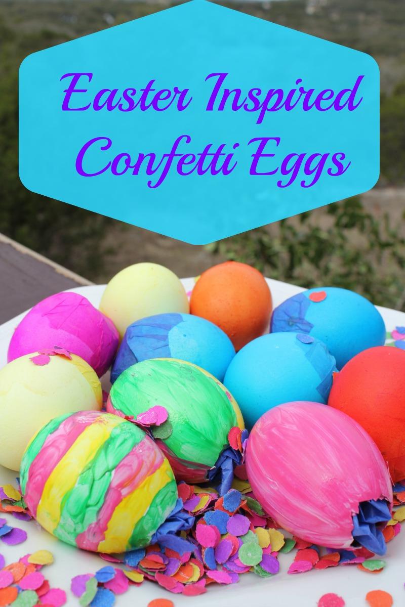 Easter Inspired Confetti Eggs