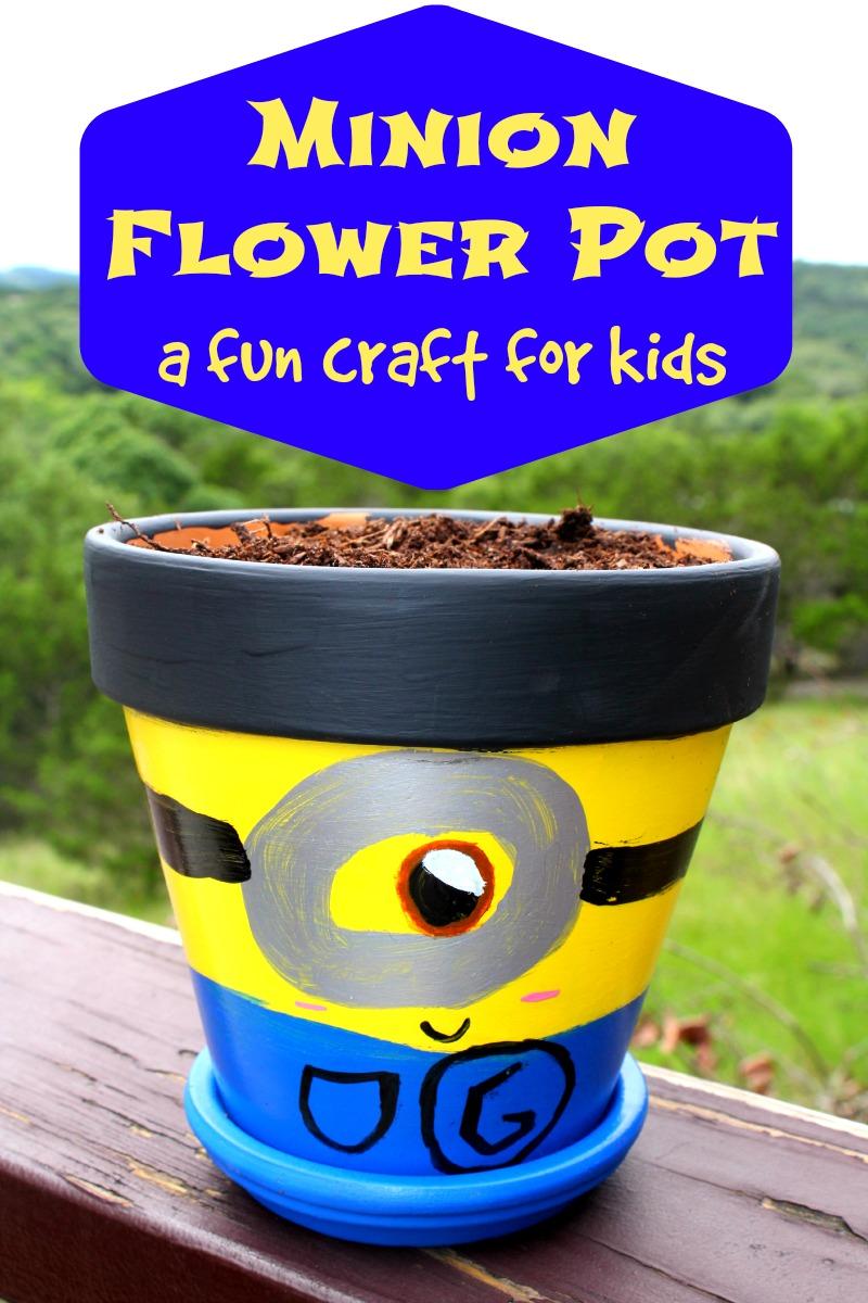 Minion Flower Pot - House of Faucis