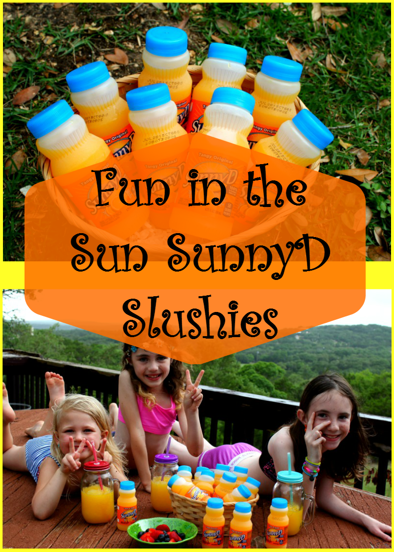 Fun in the Sun SunnyD Slushies - House of Faucis