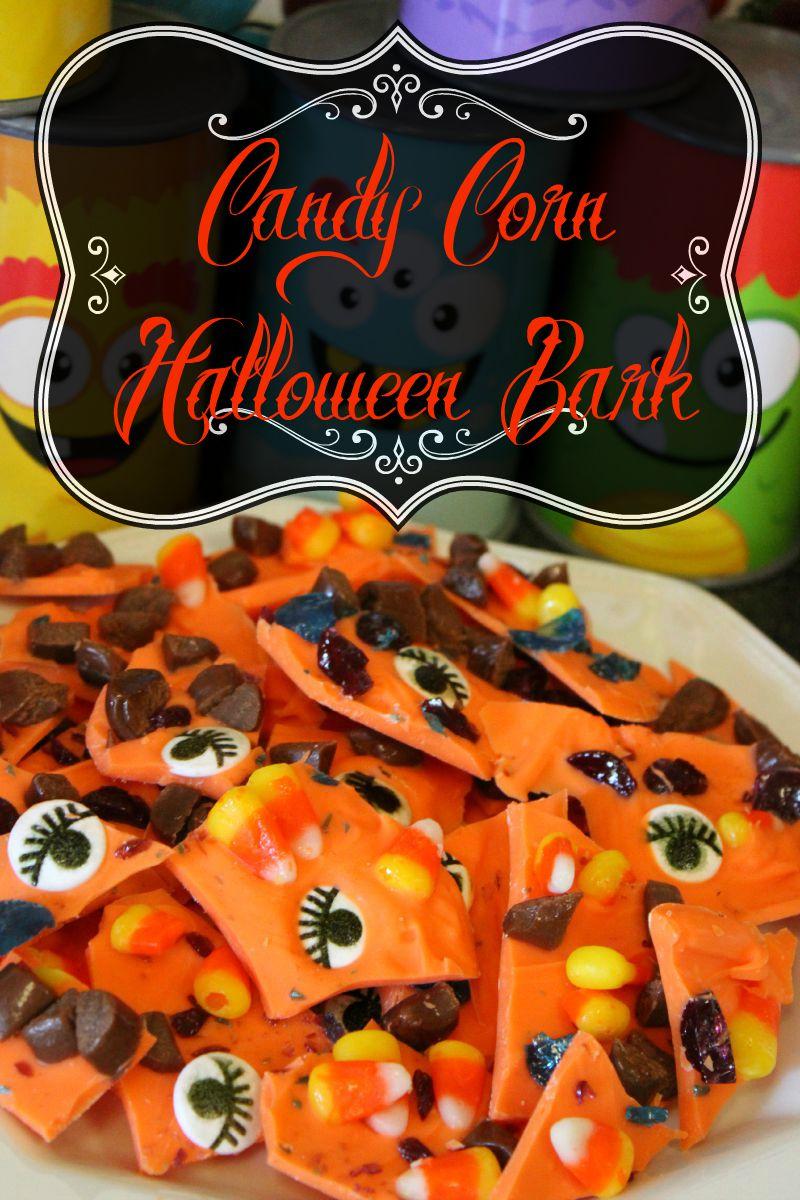 Candy Corn Halloween Bark House Of Faucis