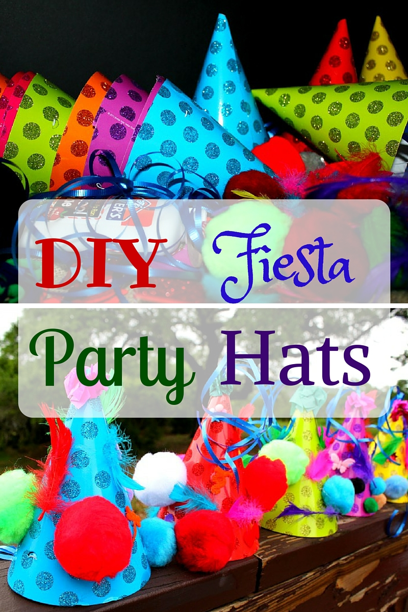 Diy Fiesta Party Hats House Of Faucis