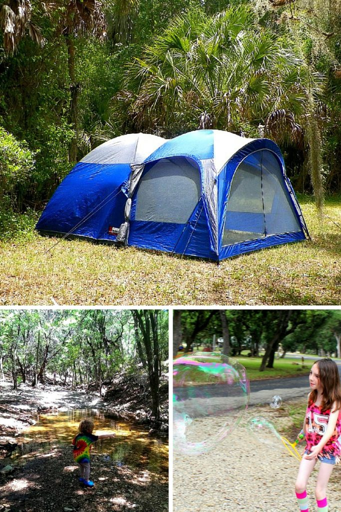 Electronic Free Camping Ideas for Kids