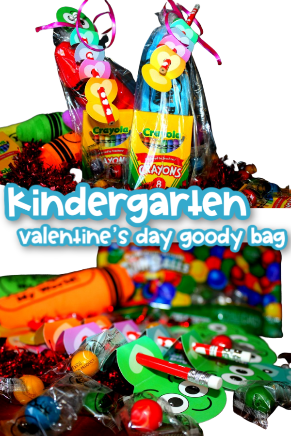 This is the perfect goody bag for any Kindergarten class. The colors pop and are full of fun and will create memories.