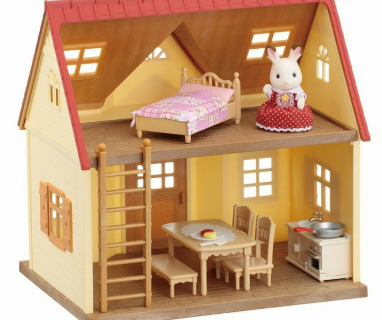 One of my favorite toys is Calico Critters because these toys let my kids use their imagination while they are playing. There is such a wide selection of these toys and my little ones love them and can spend hours playing.