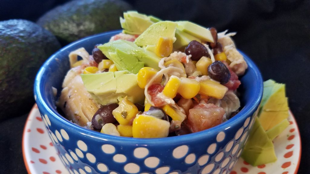 Slow Cooker Fiesta Chicken - House of Faucis