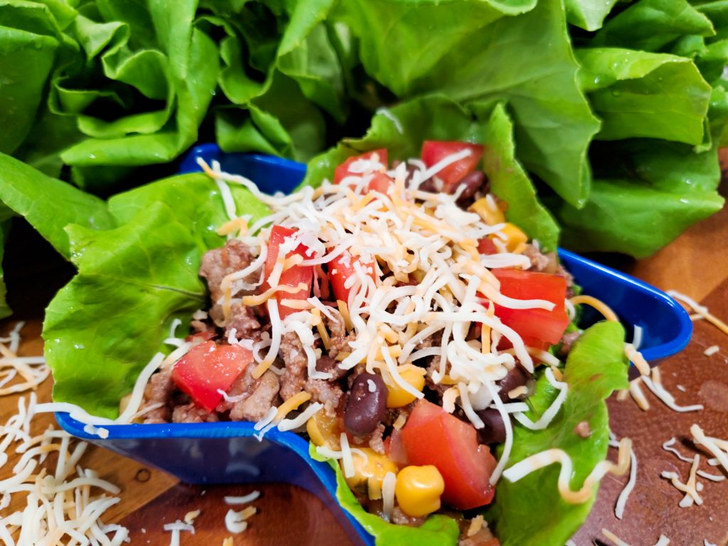 Beef Taco Lettuce Wraps - House of Faucis
