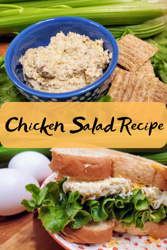 A copycat to Chick Fil A's chicken salad with a twist of my own. Easy to make and your family will love it.