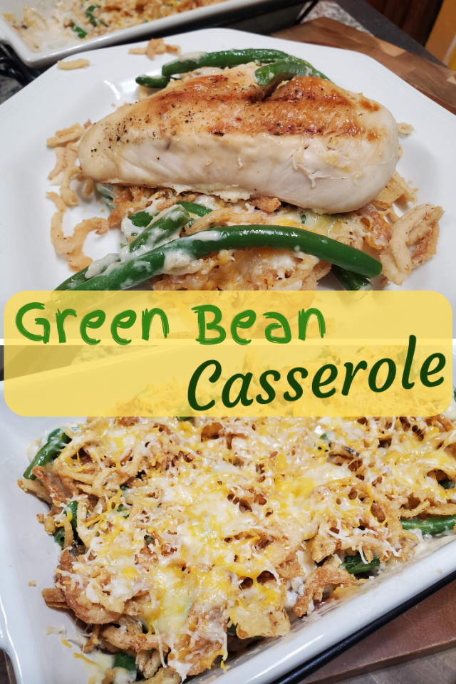 This is not your regular green bean casserole recipe. It is easy to make, delicious and perfect to eat all year round.