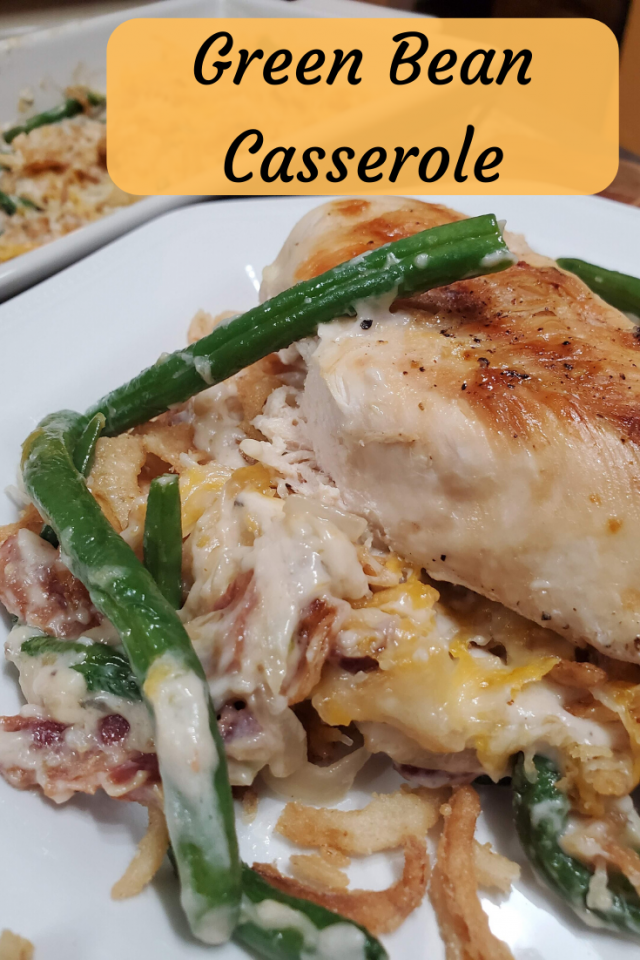 A twist on the classic Green Bean Casserole that is loved by many during the holiday season. This Green Bean Casserole can be enjoyed all year long.
