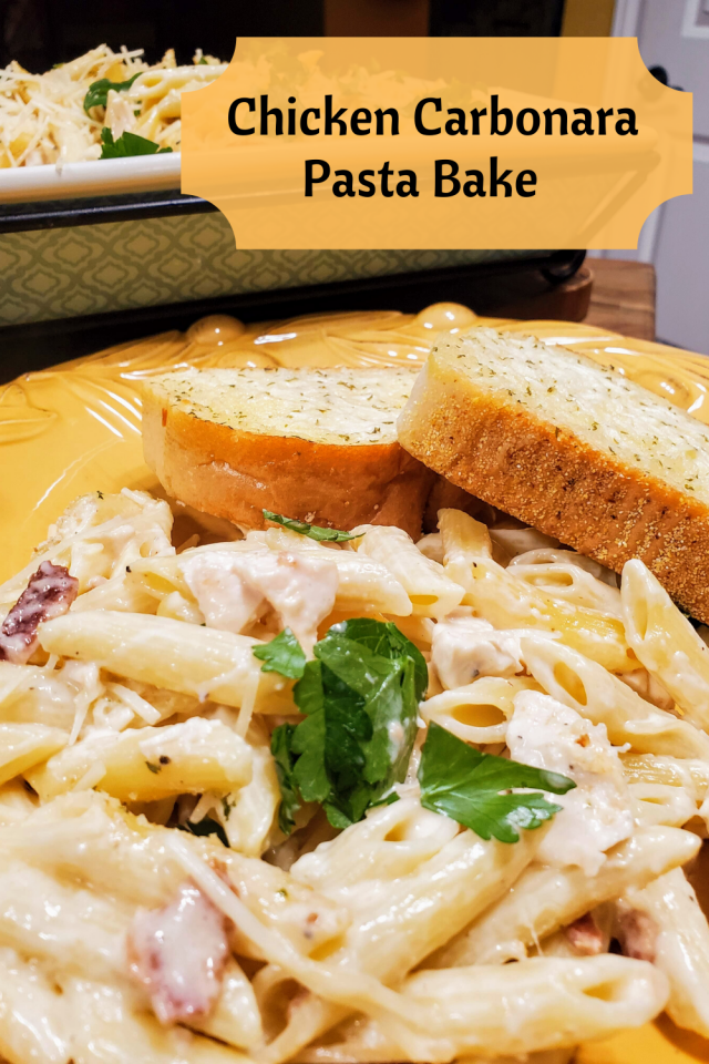 A delicious and easy to make chicken pasta dish that is perfect for the entire family.