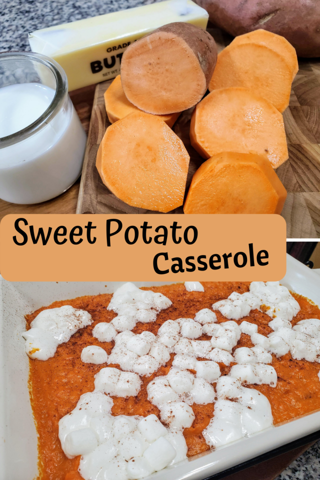 Sweet potatoes are the perfect side dish for any meal any time of the year. This is an easy recipe that the entire family will enjoy.