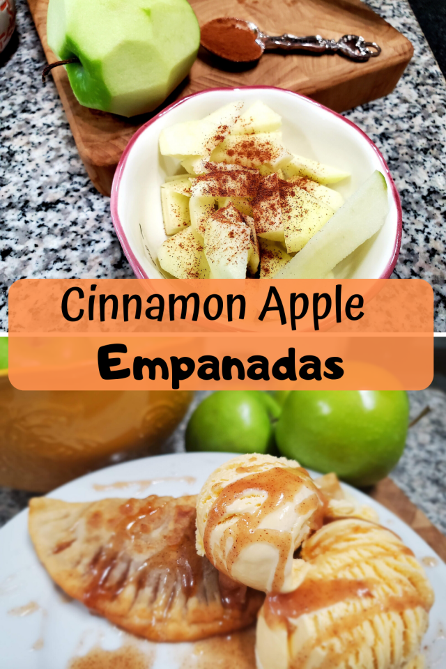 These cinnamon apple empanadas are easy to make and the entire family will love them.