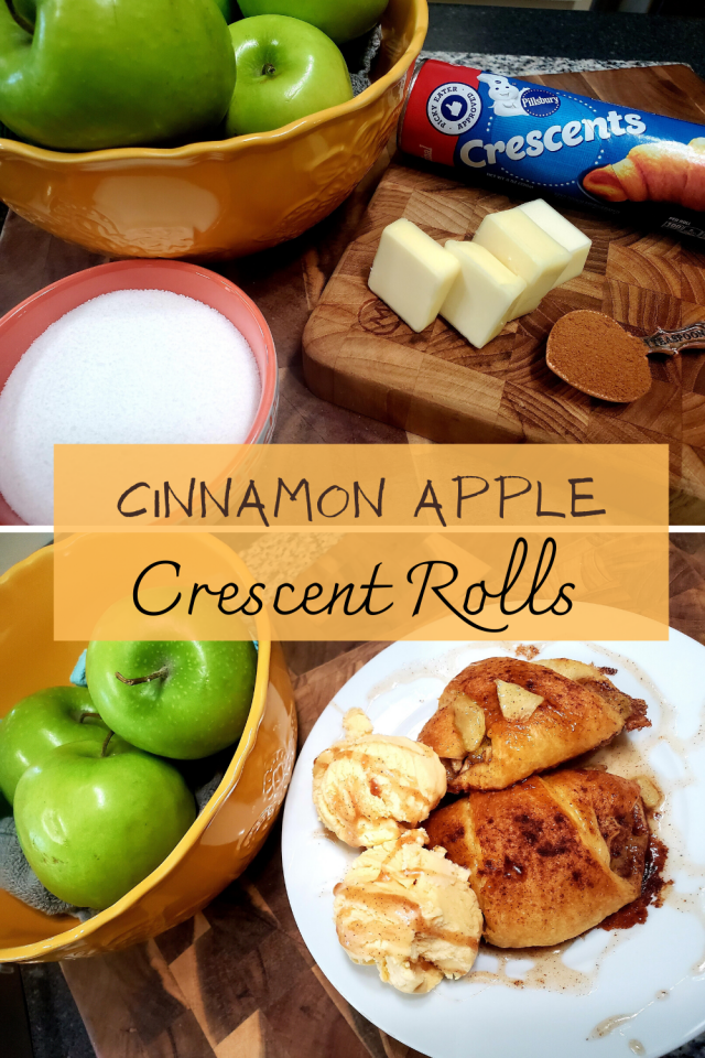 The taste and smell of cinnamon and apples combined together are my favorite.These two combinations immediately remind me of the summer holidays.