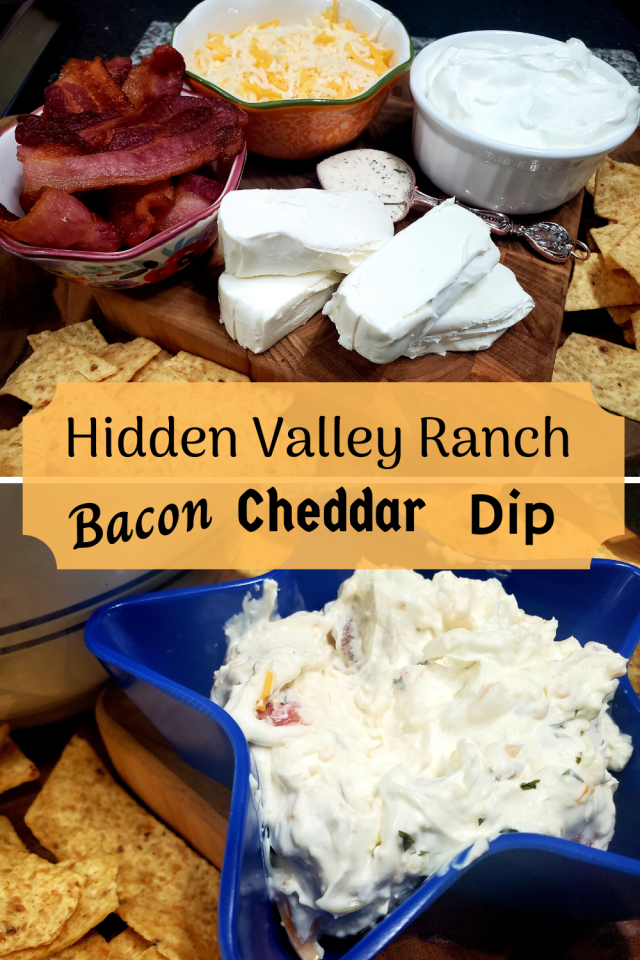 I love dip! It is absolutely one of my most favorite snacks to eat. I recently made Hidden Valley Ranch Bacon Cheddar Dip & it was amazing.