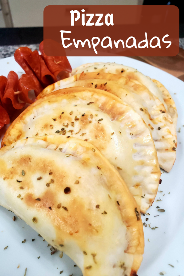 A great thing about pizza empanadas is that you can alternate the ingredients based on your family's taste preferences.