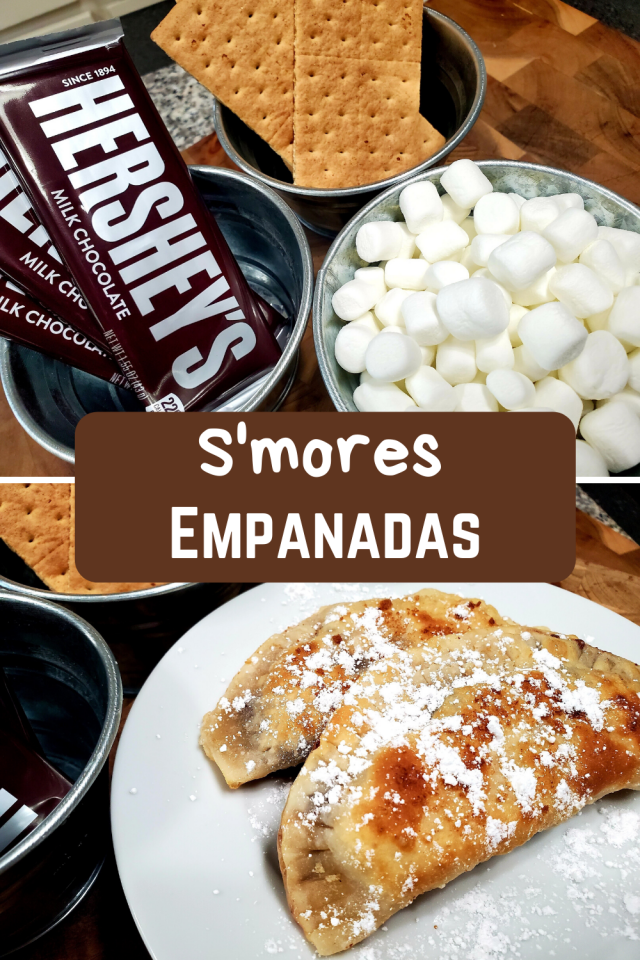 This weekend I decided to make my family S'mores Empanadas. We love S'mores so I knew that this was going to be a huge hit, especially with my girls.