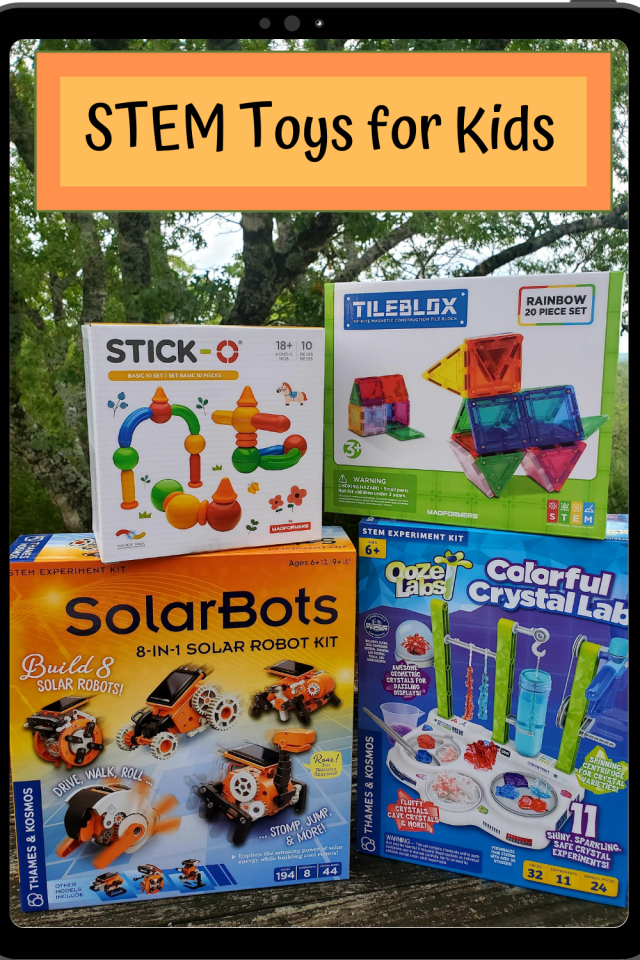 When I choose toys to buy for my kids, I not only look at the quality and cost of each toy but the educational aspect of each toy. Here is a list of STEM toys for all ages.