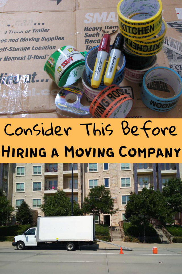 in order to reduce stress and save time, it is important that you know what to consider when hiring a moving company.