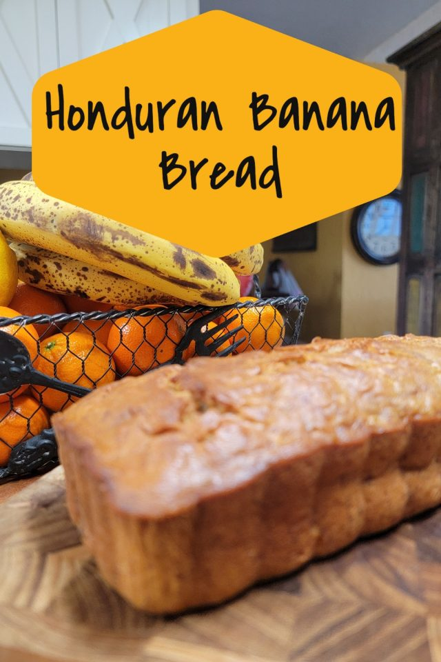 Honduran Banana Bread Recipe is an easy and delicious dessert that is a perfect way to celebrate the country of Honduras.