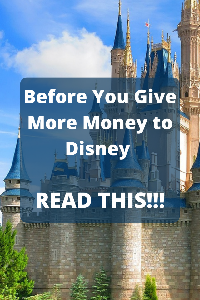In the past and even now Disney has made some very bad business moves. If you are a Disney enthusiast, Read This Before You Give Your Money to Disney.
